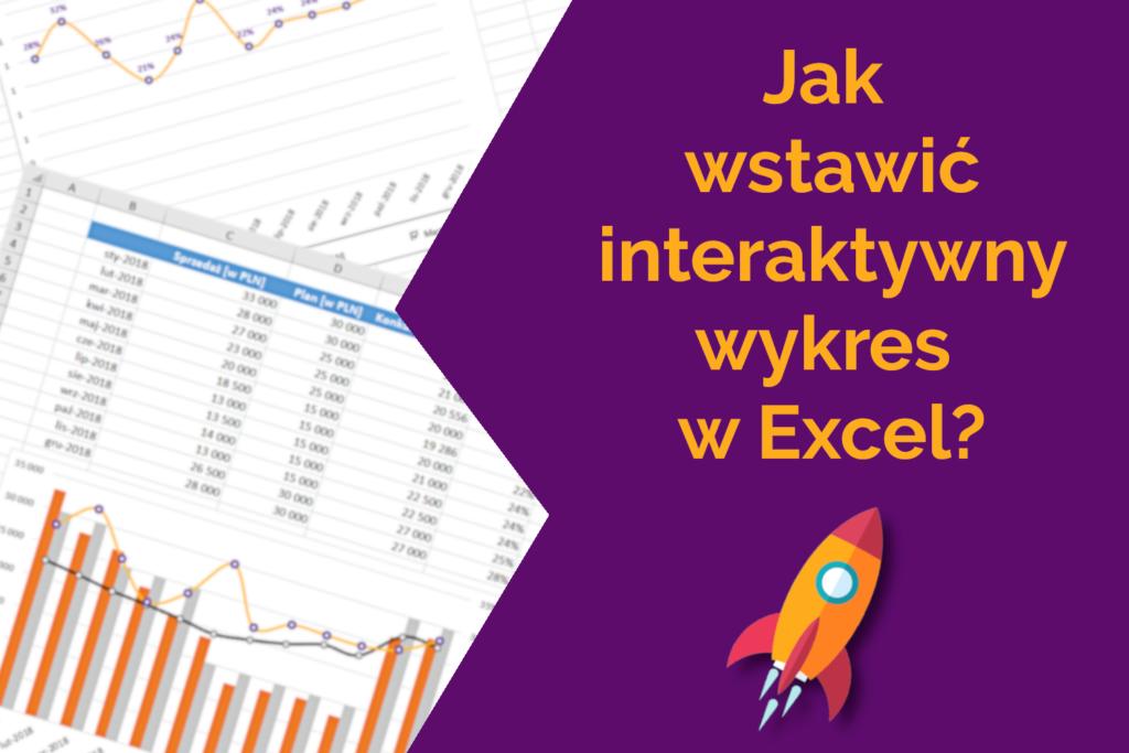interaktywny wykres Excel